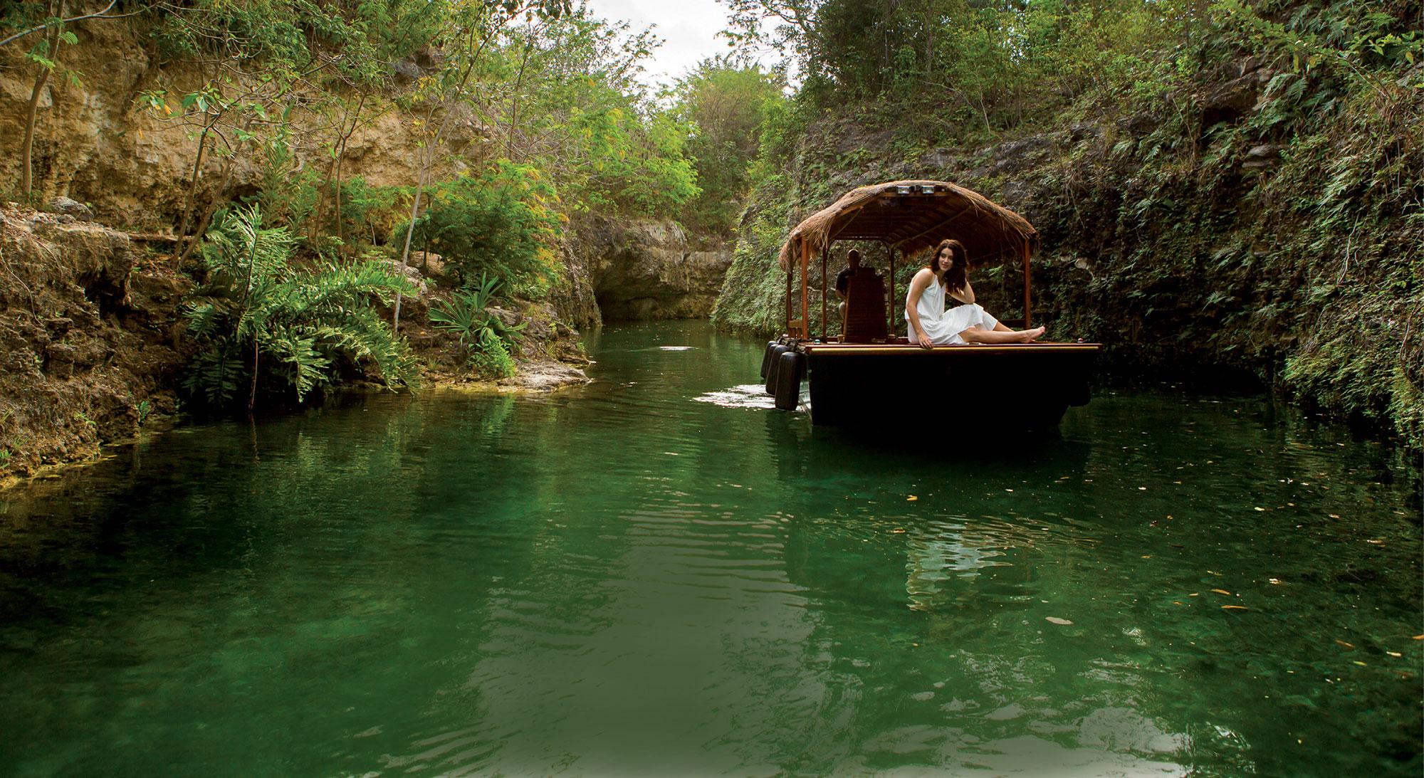 Mayakoba Kayaking
