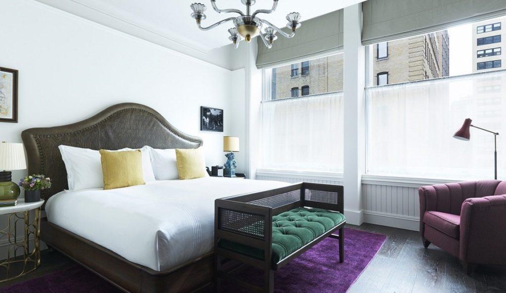 Beekman Hotel Deluxe King Room