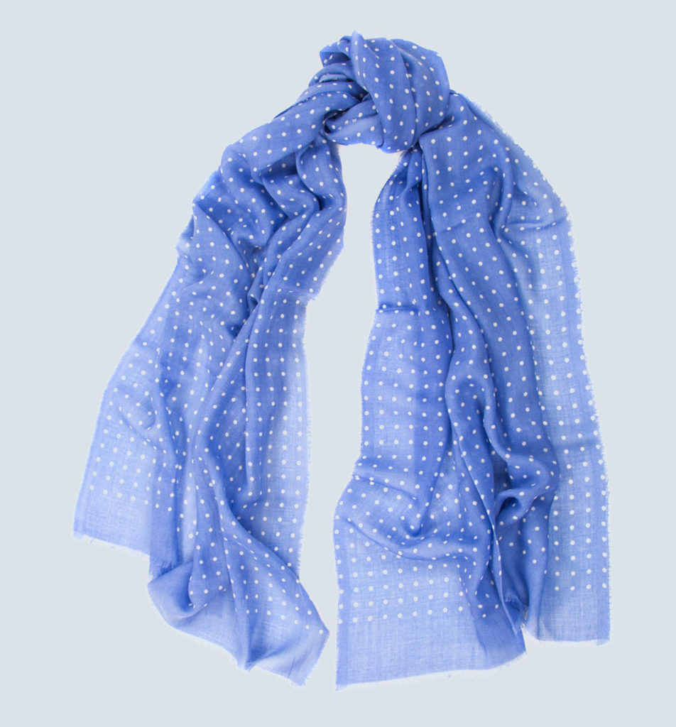 Begg & Co. Cashmere Hanover Print Scarf