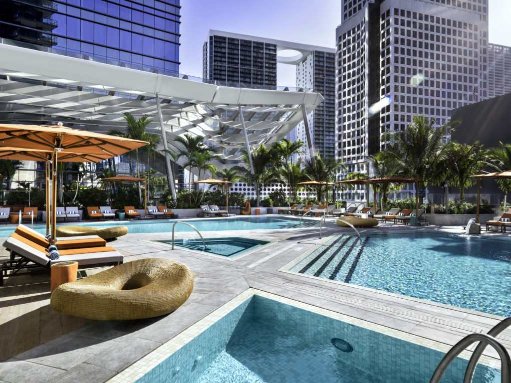 East Miami Swire Hotel Pool