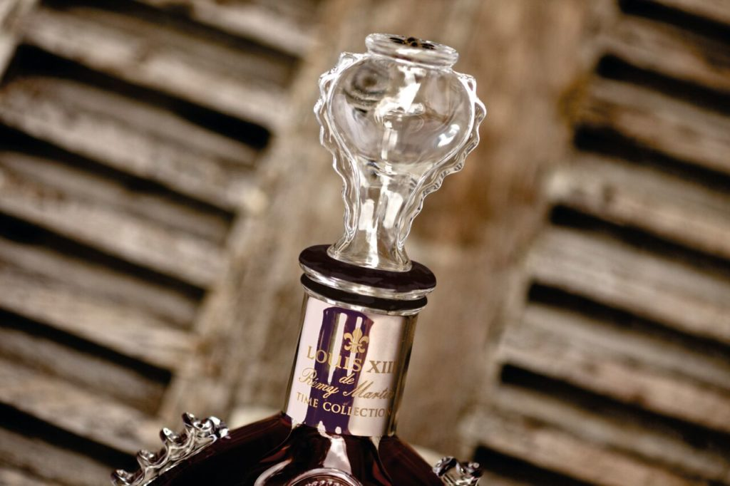 Louis Cognac Crystal Stopper