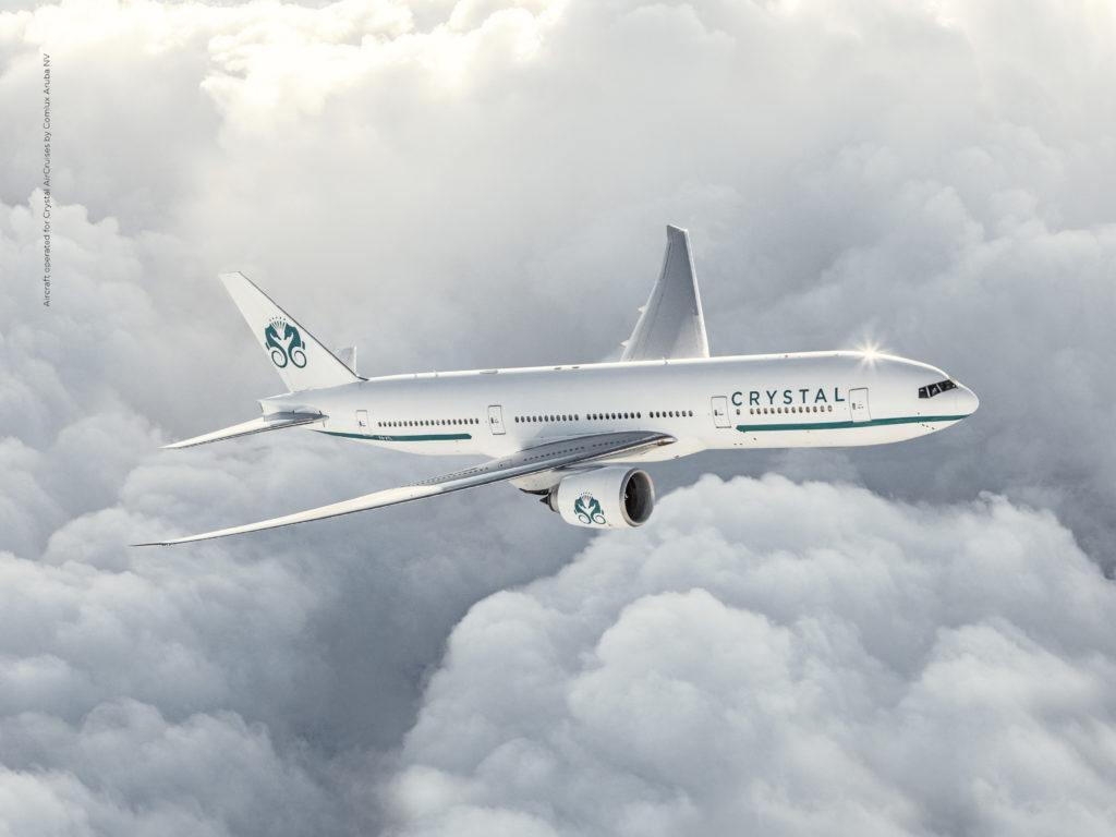 Crystal Aircruise Inaugural Flight