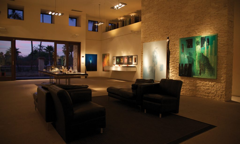 Frank Arnold Gallery Interior