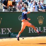 Rolex testimonee Dominik Thiem during the 2017 Monte Carlo Rolex Masters