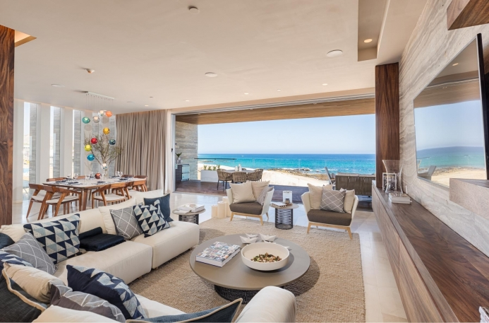 The Residences at Solaz Living Room