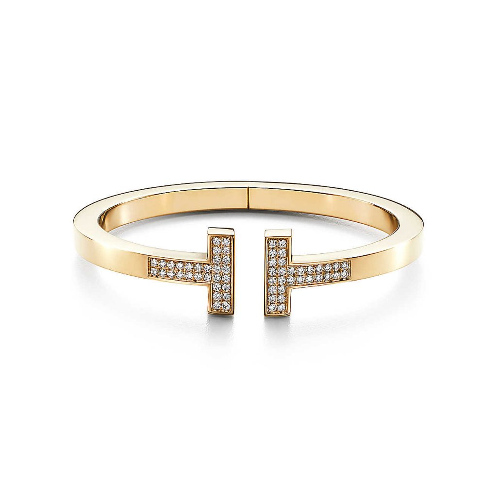 Tiffany & Co T Diamond Bracelet