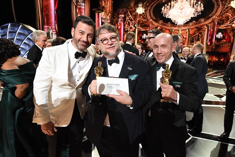 Jimmy Kimmel, Guillermo del Toro