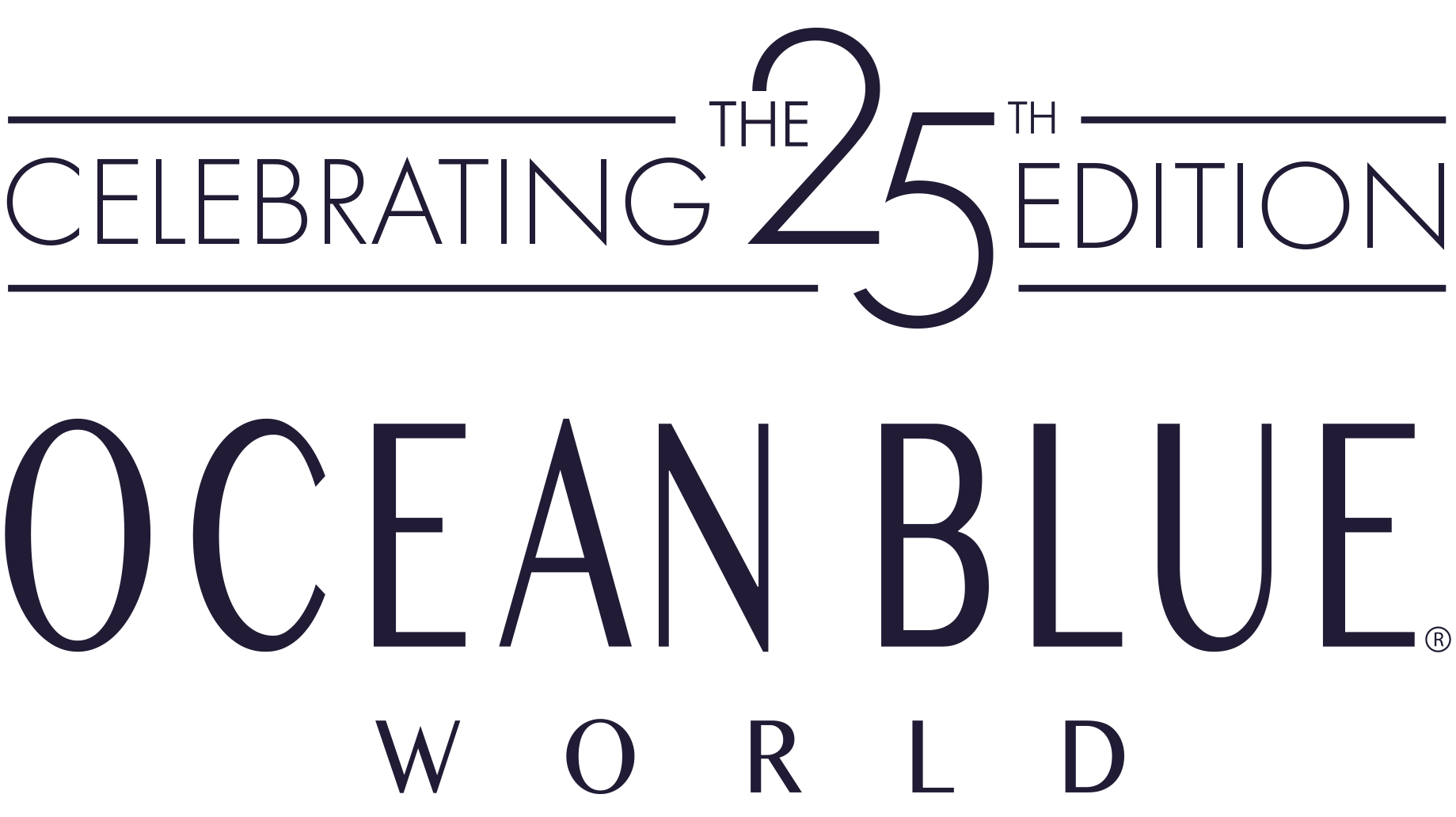 Ocean Blue WORLD logo
